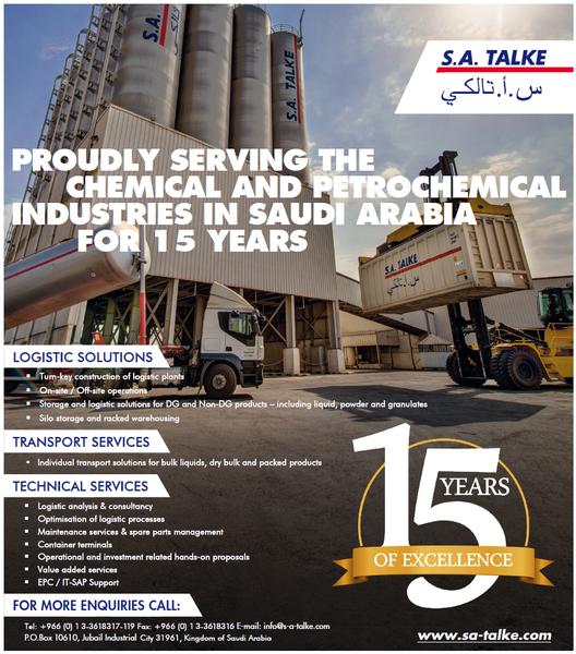 S.A. TALKE reaches milestone, celebrates 15th anniversary - OGN March 2019