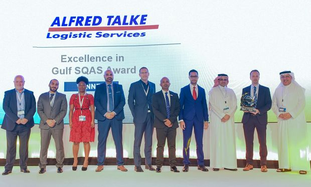 "TALKE Group wins the ""Excellence in Gulf SQAS Award"" at the GPCA Supply Chain Conference 2019, Dubai."