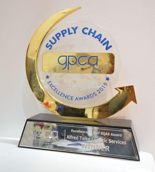 GPCA Excellence in Gulf SQAS Award 2019 Winner - ALFRED TALKE